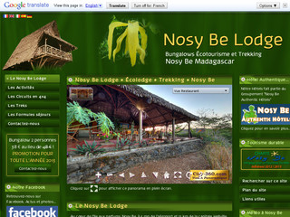 Nosy Be Lodge • Écolodge • Trekking • Nosy Be Madagascar